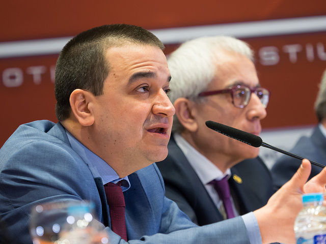 Francisco Martínez Arroyo, consejero de Agricultura, Medio Ambiente y Desarrollo Rural de la JCCM