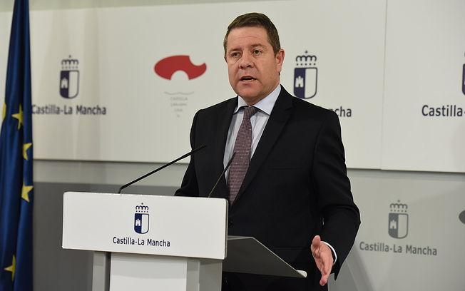 Emiliano García-Page, jefe del Ejecutivo regional.( Fotos:José Ramón Márquez //JCCM ).