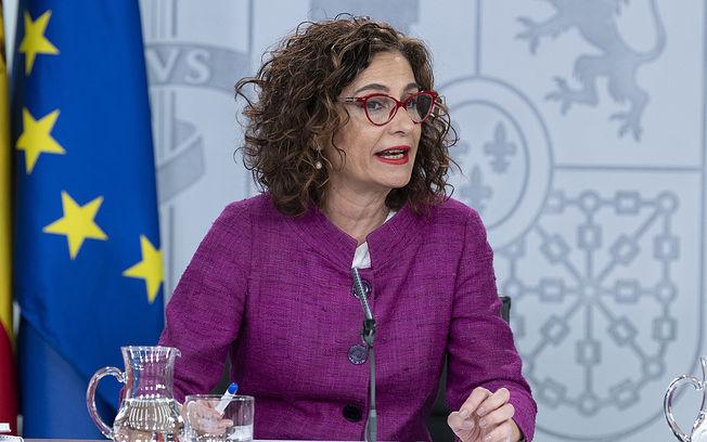 La ministra de Hacienda y portavoz del Gobierno, María Jesús Montero. Pool Moncloa/Borja Puig de la Bellacasa