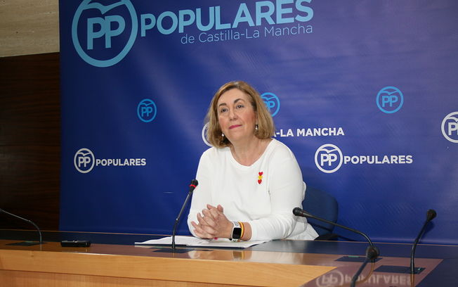 Silvia Valmaña, diputada nacional por Guadalajara y vicesecretaria de Acción Política del PP de Castilla-La Mancha.