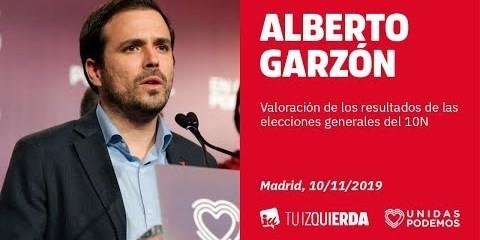 """Garzón: """"La división de la izquierda provoca perder escaños en beneficio de la extrema derecha"""" - La Cerca"""