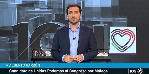 IU: Alberto Garzón en el debate electoral de Canal Sur - La Cerca